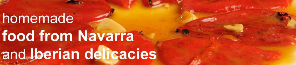 gastronomía navarra en el Bodegón Sarria