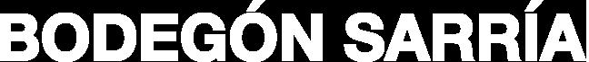 logo bodegón sarria: haut de page